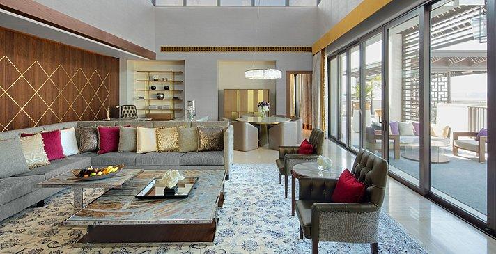 Presidential Suite Wohnzimmer- Jumeirah Al Naseem