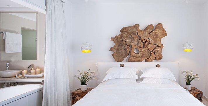Prestige Guestroom Private Pool - Myconian Villa Collection