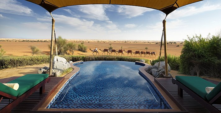 Privatpool Bedouin Suite - Al Maha Desert Resort & Spa