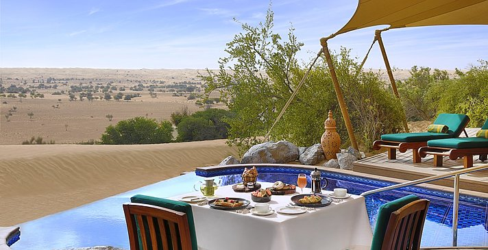 Privatpool Royal Suite - Al Maha Desert Resort & Spa
