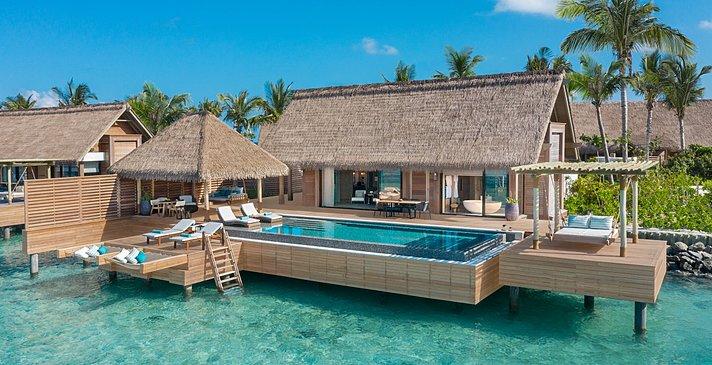 Reef Villa mit Pool - Waldorf Astoria Maldives Ithaafushi