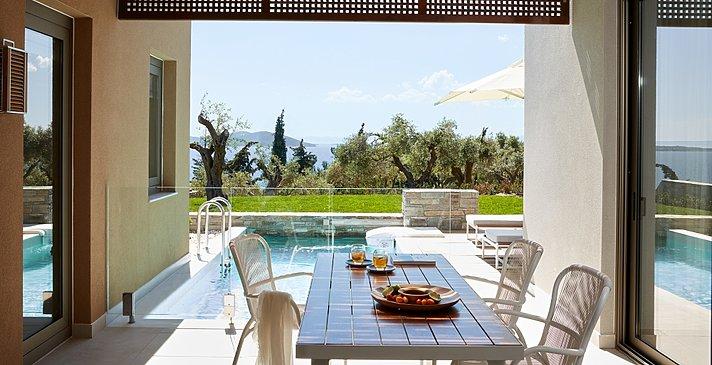 Residential 2 BR Pool Villa mit privatem Garten - Eagles Villas