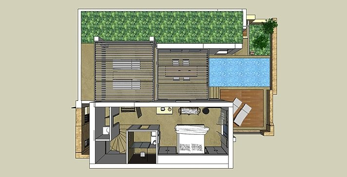 Residential 2 BR Villa - Eagles Villas