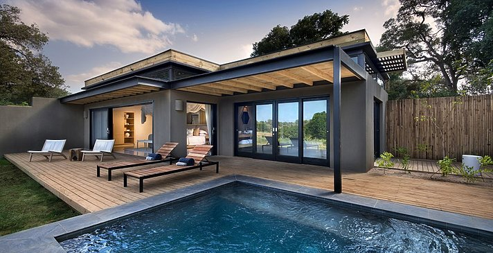 River Suite - Lion Sands River Lodge
