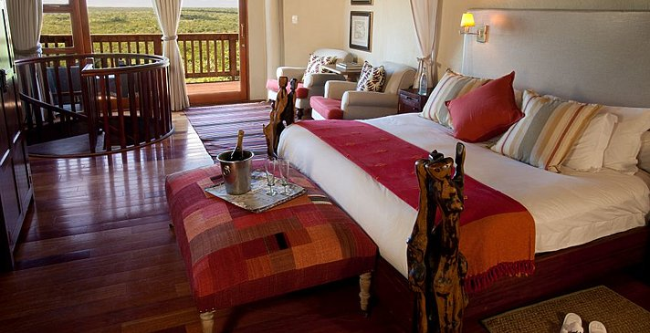 Rock Lodge Cliff Room - Ulusaba Private Game Reserve