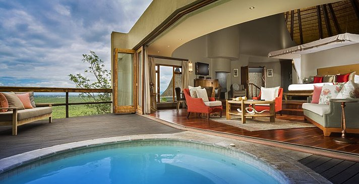 Cliff Lodge Suite 2 - Ulusaba Private Game Reserve