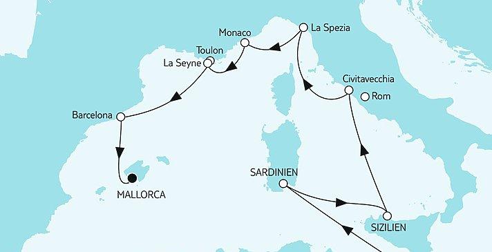 Route Malta trifft Mallorca II