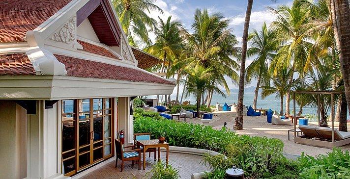 Deluxe Beachfront Villa - Santiburi Koh Samui