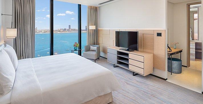 Schlafbereich Suite