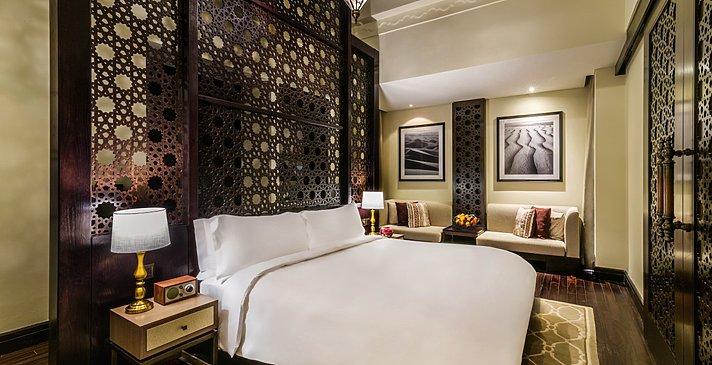 Schlafzimmer Al Rimal Deluxe Pool Villa