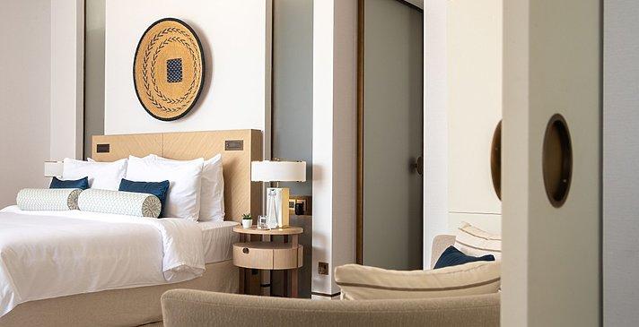 Schlafzimmer Ocean- und Family Suite
