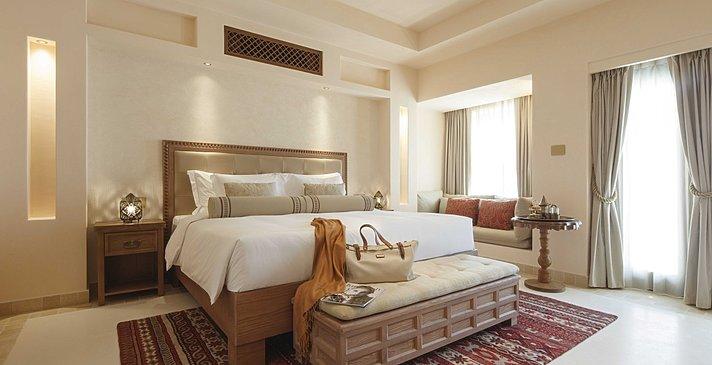 Schlafzimmer One Bedroom Pool Villa - Al Wathba Desert Resort & Spa