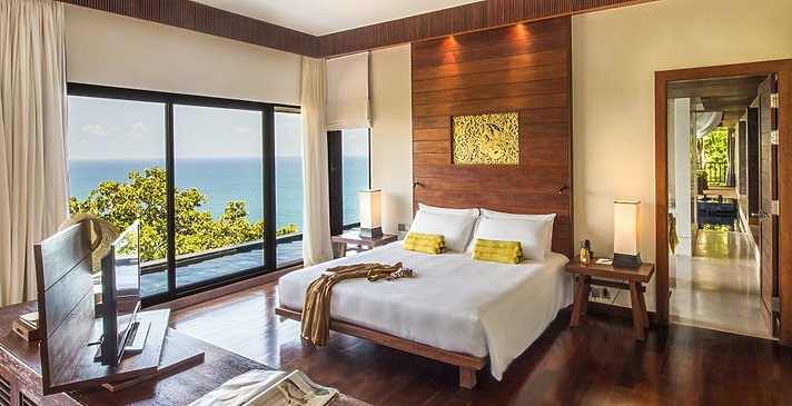 Schlafzimmer Spa Pool Suite - Paresa Phuket