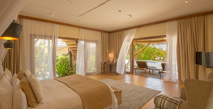 Schlafzimmer Family 2 BR Villa - White Sand Luxury Villas & Spa