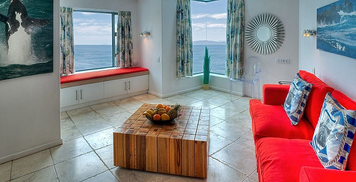 Sea Star Cliff Lodge - Luxury Seafacing Family Suite