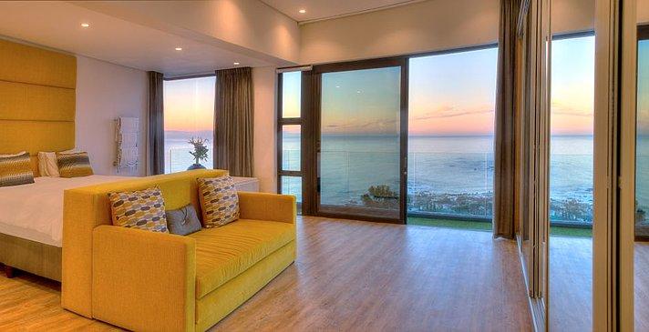 Sea Star Rocks - Penthouse 2 Bedroom - Hauptschlafzimmer