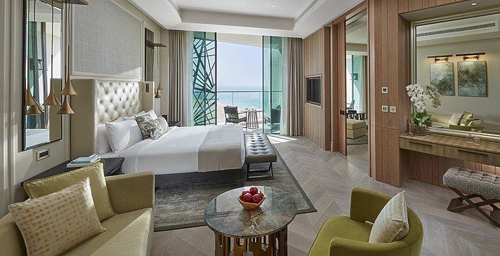 Sea View Suite Schlafbereich