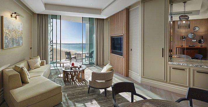 Sea View Suite Wohnbereich