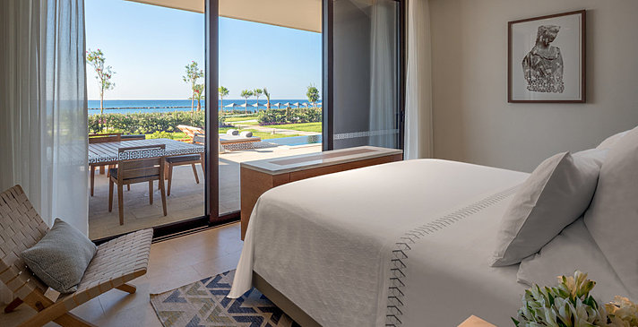 Seafront Deluxe Bedroom mit Pool - Amara