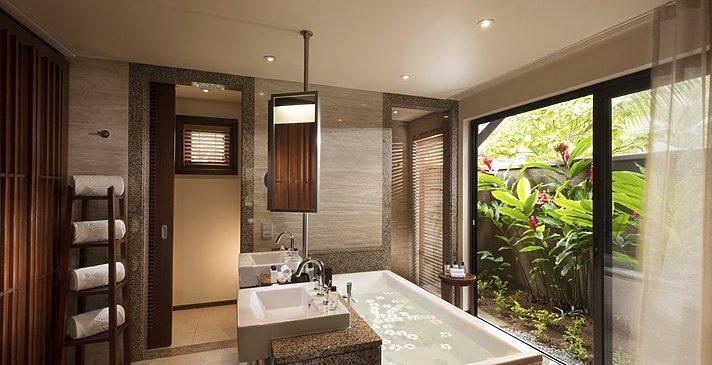 Senior Suite Badezimmer - Constance Ephelia Seychelles