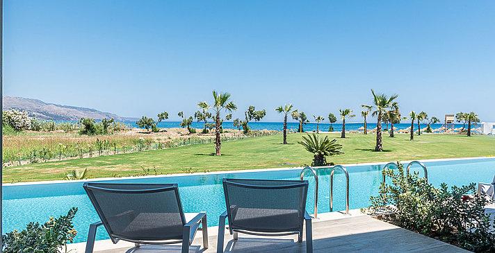 Sharing Pool Side Sea View - Euphoria Resort