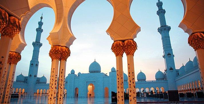 Sheikh Zayed Moschee, Abu Dhabi