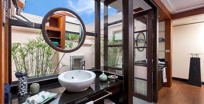 Signature Pool Villa Badezimmer - Banyan Tree Phuket