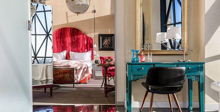 Silo Room - The Silo Hotel