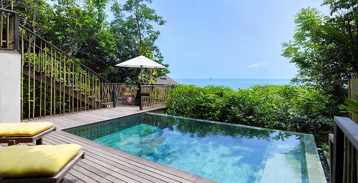Ocean View Pool Villa - Six Senses Samui
