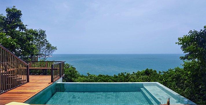 Ocean Front Pool Villa - Six Senses Samui