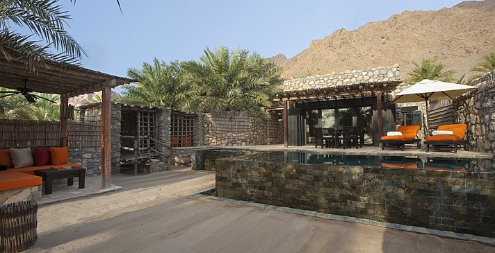 (Beachfront) Pool Villa - Six Senses Zighy Bay