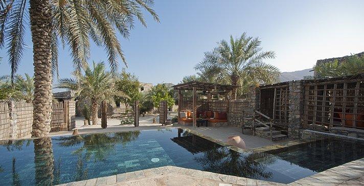 2 Bedroom Zighy Pool Villa Außenbereich - Six Senses Zighy Bay