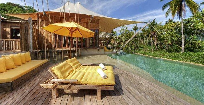 Soneva Kiri - Beach Pool Villa Suite Terrasse