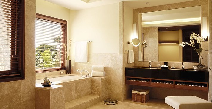 Suite Badezimmer - Shanti Maurice Resort & Spa