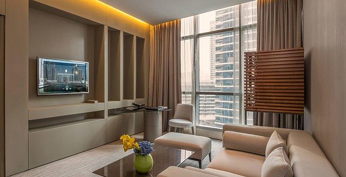 Suite Wohnzimmer - InterContinental Dubai Marina