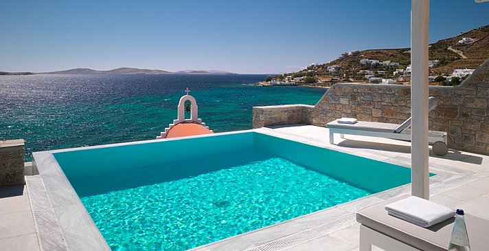 Suite mit privatem Pool - Mykonos Grand Hotel & Resort