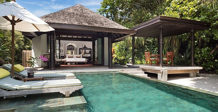 (Sunset) Beach Pool Villa - Anantara Kihavah Villas