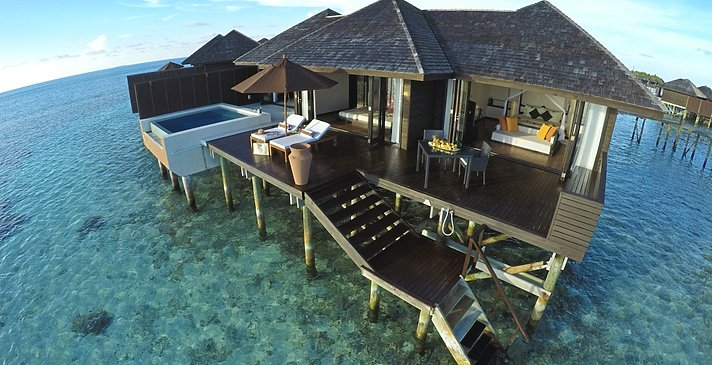 Sunset Water Suite - Lily Beach Resort & Spa