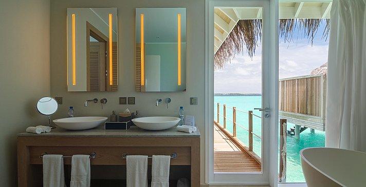 (Sunset) Water Villa Badezimmer - Baglioni Resort Maldives