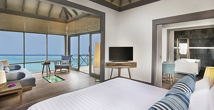 Sunset Water Villa mit Pool - JA Manafaru