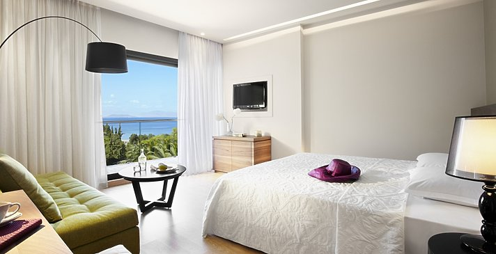 Superior Room Sea View - MarBella Corfu