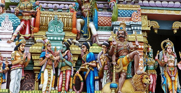 Tempel in Colombo