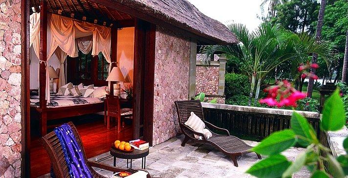 The Oberoi Lombok - Luxury Pavilion - Terrasse