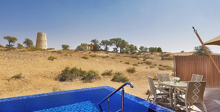 Privatpool Al Sahari Villa - The Ritz-Carlton, Al Wadi Desert