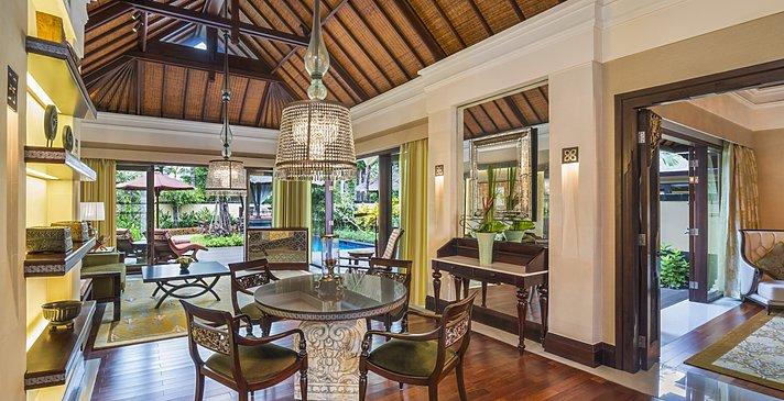 Gardenia Villa Wohnzimmer - The St. Regis Bali Resort