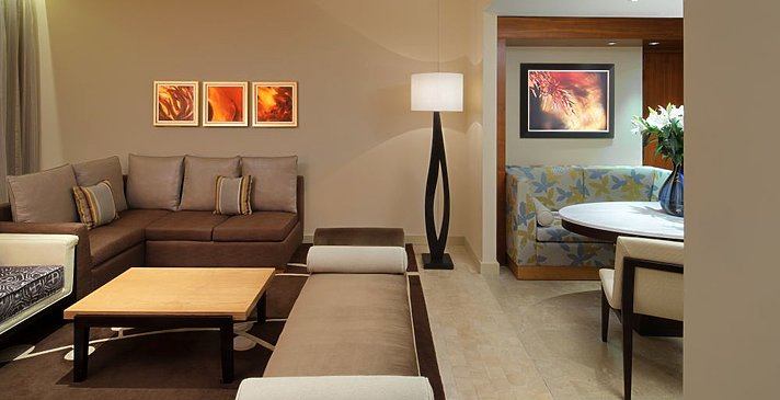 Wohnbereich Executive Suite - The Westin Abu Dhabi Golf Resort & Spa