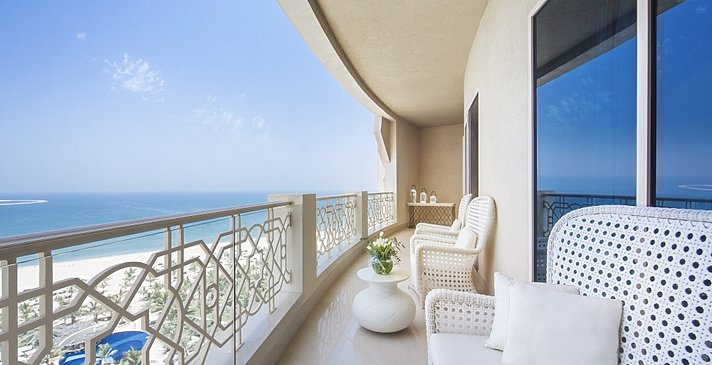 Balkon der Tower Suite Sea View Balcony