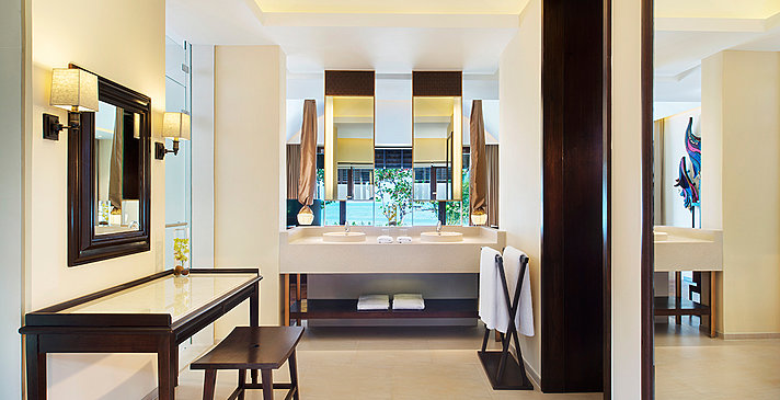 Tropical Pool Villa Badezimmer - Vana Belle, A Luxury Collection Resort