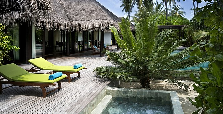 Two Bedroom Beach Pool Residence - Anantara Kihavah Villas
