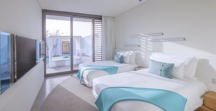 Two Bedroom Beach Villa - Nikki Beach Resort & Spa Dubai